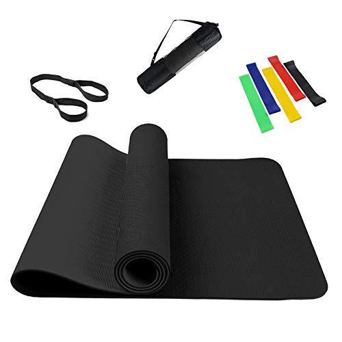 Summer Mae Esterilla Yoga Antideslizante Esterilla Pilates para Fitness y Entrenamiento -...