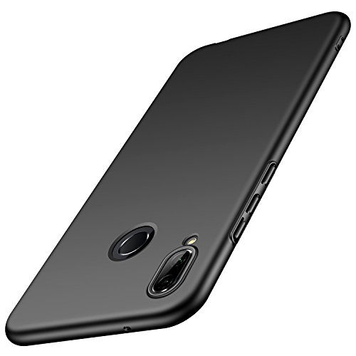 Case for Huawei P20 Lite Case [Slim Protective] [Protect from Shock/Scratch/Drop/Marks] [Premium PC Plastic] Minimalist Hard Cover for Huawei P20 Lite (Black)