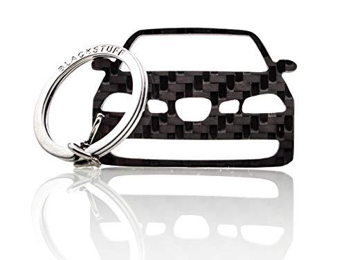 BlackStuff Llavero De Fibra de Carbono Cadena De Claves Compatible con Ibiza MK3 6L FR Cupra 2002-2008 BS-833