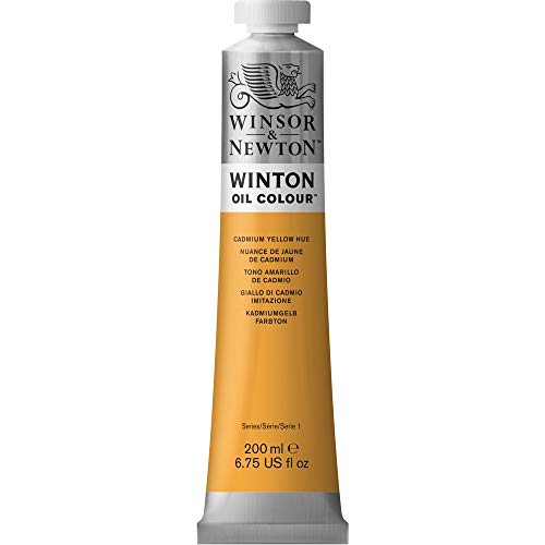 Winsor & Newton Winton Oil Color Paint, 200-ml Tube, Cadmium Yellow Hue