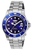 Invicta Men's Pro Diver 40mm Stainless Steel Quartz Watch, Silver/Blue (Model: 26971)