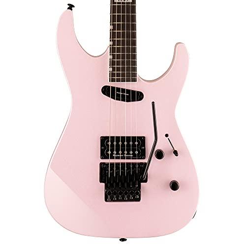 ESP 6 String LTD Mirage Deluxe '87 guitarra eléctrica, rosa perla, derecha,...