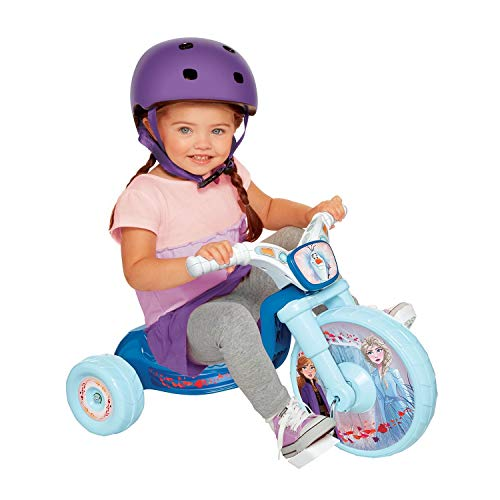 "Disney Frozen 2 Frozen 2 Fly Wheels 10"" Junior Cruiser Ride-On with Sound Effects Button! Ages 2-4"