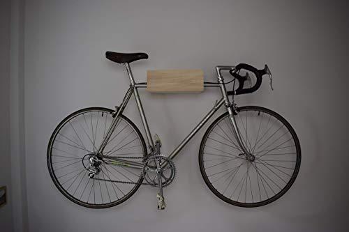 Fahrradhalterung / Fahrradhalter / Wandhalterung / Fahrradständer / bike rack / Halter für Fixie singlespeed Rennrad mit magnetischer Klappe