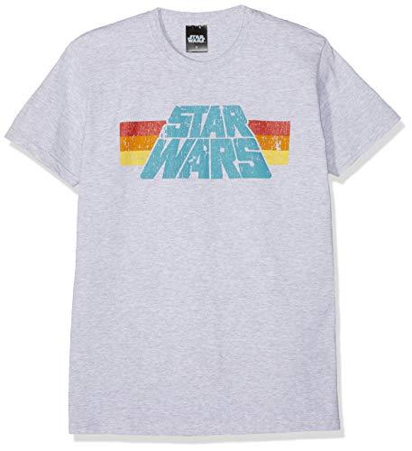 Star Wars Vintage 77 Maglietta Grigio Melange L
