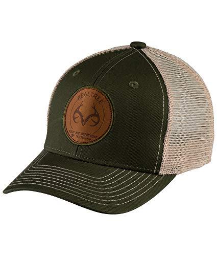 Colosseum Outdoors Men's Realtree Edge Hunting Pioneer Trucker Hat (Bronze Green)