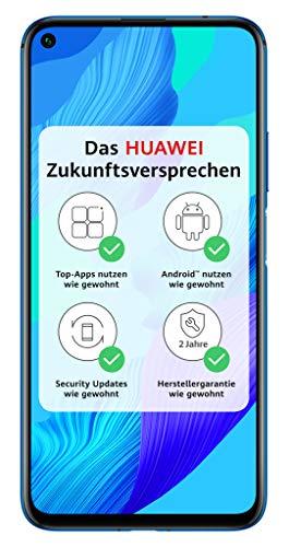 HUAWEI Nova 5T Dual SIM, Crush Blue + 16GB SD Karte [Exklusiv bei Amazon] - DE Version