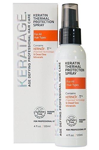 Keratage Keratin Thermal Protection Spray 4 Oz by Keratage
