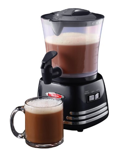 Nostalgia HCM700 Hot Chocolate, Milk Frother, Cappuccino...