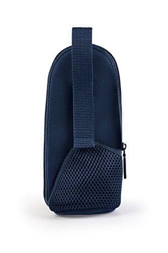 MAM Thermal Bag mit Isolierschicht, Thermotasche hält Flüssigkeiten warm und kalt, Isoliertasche für viele handelsübliche Babyflaschen, blau