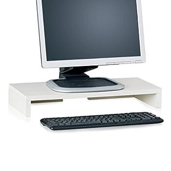 monitor stand white