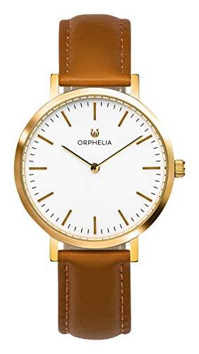 ORPHELIA Damen Analog Uhr Spectra mit Leder Armband
