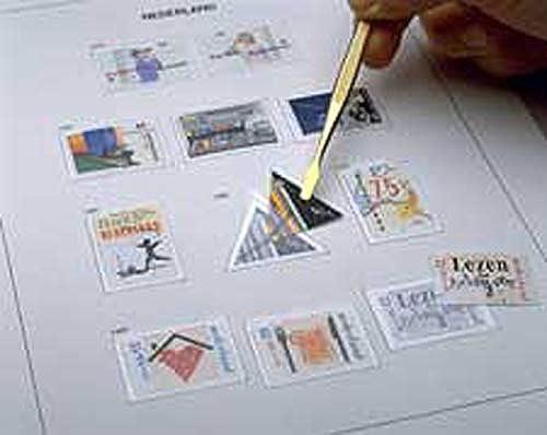 DAVO 546 Luxe index stamp album Netherlands PZB 1983-2003