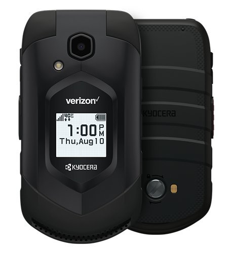Kyocera DuraXV LTE E4610 Verizon Wireless Rugged Waterproof Flip Phone (Renewed)