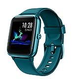 Arbily Fitness Tracker, Smartwatch con Touchscreen Completo per Donna Uomo Bambini Orologio Fitness Impermeabile IP68 con Cardiofrequenzimetro Pedometro Contapassi Monitoraggio del Sonno (Verde)