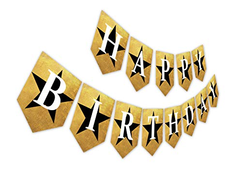 Hamilton Inspired Birthday Banner, The Famous Musical Bday Bunting Sign, Musician Party Decor