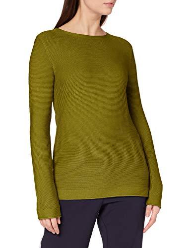 Tom Tailor 1016350 Ottoman Pullover Jersey otomano, 19651 Wood Green-Juego de Mesa [Importado de Alemania], XXXL para Mujer