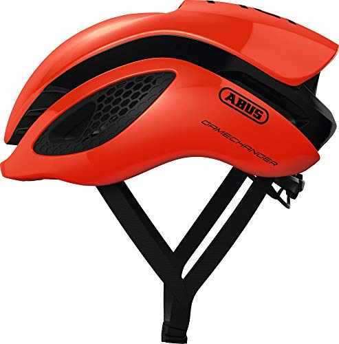 ABUS Gamechanger Aero Helm, Unisex Adulto, Shrimp Orange, S