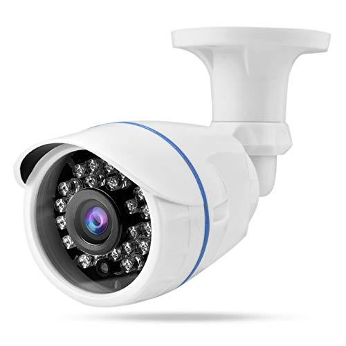 Vipxyc Cámara HD 1080P IR Cámara a Prueba de Agua Robusta y Duradera para vigilancia en Interiores y Exteriores(NTSC System)