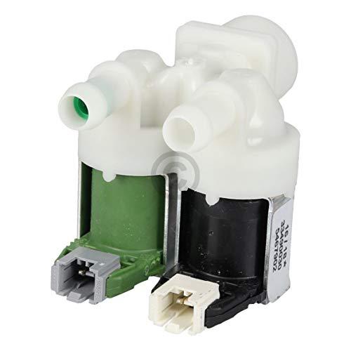 LUTH Premium Profi Parts Válvula solenoide de 2 vías 180° con reducción para Miele 5467902 5467901 Lavadora
