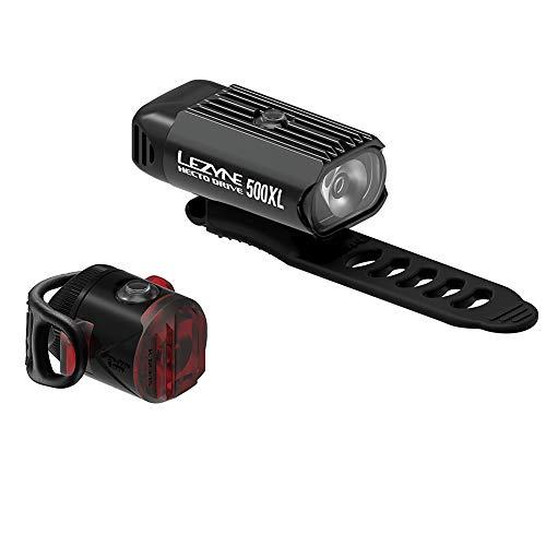 Lezyne Hecto Drive 500XL / Femto Drive LED-Fahrradlichter, USB wiederaufladbar,...
