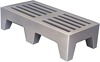 Winholt PLSQ-5-1222-GY Dunnage Rack, Plastic, 22