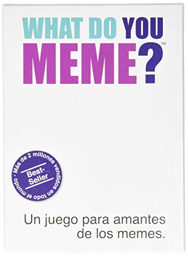 What Do You Meme?- Juego de Cartas, Multicolor, Talla Única (Bandai Wh00030)