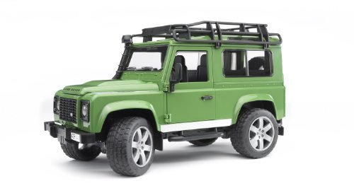 Bruder-02590 Juguete de Land Rover Defender-Station Wagon (02590)
