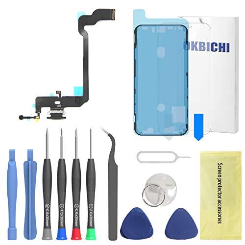 OKBICHI Conector de Muelle para iPhone XS (Todos los transportistas) Cable Flexible...