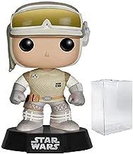 Star Wars: The Empire Strikes Back - Hoth Luke Skywalker Funko Pop! Vinyl Bobble-Head Figure (Includes Compatible Pop Box Protector Case)