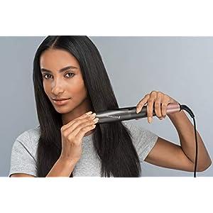 Remington Glätteisen & Lockenstab - Curl&Straight 2in1 Multistyler [Upgrade]: geschwungene Stylingplatten zum Glätten, Locken & Wellen, Haarglätter mit Temperatureinstellung S6606B [Amazon Exklusiv]