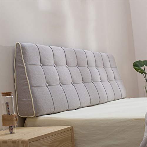 HSMM Kopfteil Bett Kissen Großes Dreieckiges Kissen Kopfteil Für Betten Sofa Rückenpolster Lesekissen Für Sofa-c 200x15x50cm(79x6x20inch)