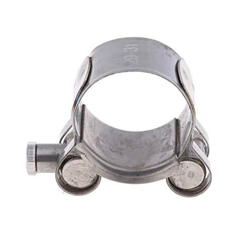 YXWEI® Edelstahl Schlauchschelle Auspuff-Rohr Turbo Clip for 29-31mm