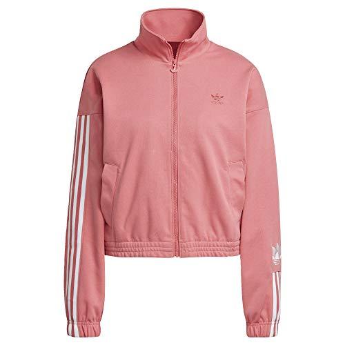 adidas Adicolor 3D Trefoil Track Jacket Women's, Pink, Size L
