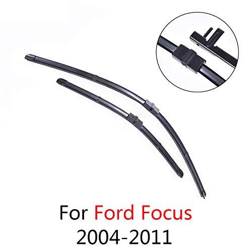 LILIGUAN ruitenwisser voor Ford Focus 2004 2005 2006 2007 2008 2009 tot 2011, zachte rubberen misserbladen voor auto