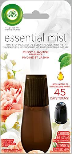 Air Wick Essential Mist Refill, Peony & Jasmine,1 Count
