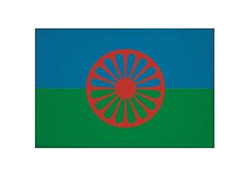 U24 Aufnäher Sinti & Roma Fahne Flagge Aufbügler Patch 9 x 6 cm