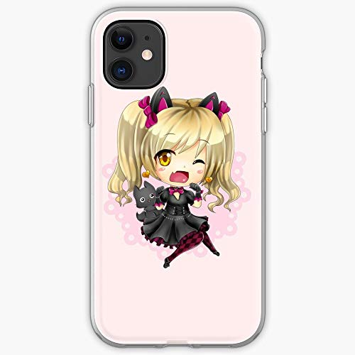Va Cat Chibi D Overwatch Kitty Cute Anime Dva - Unique Design Snap Phone Case Cover for iPhone 11, iPhone 11 Pro, iPhone XR, Samsung Galaxy
