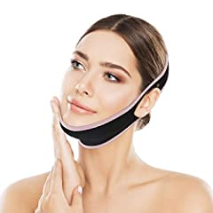 Perfect for Face Slimming:OUTERDO facial slimming strap tightens the face skin, improve facial wrinkles, improve a double chin, prevent the cheeks sagging. V line band makes a face to smaller and smoother. Shaping the perfect V line chin. Comfortable...