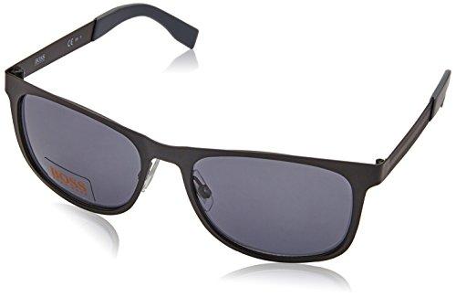 Boss Orange BO 0244, Gafas de sol Unisex - Adulto, BLK SMTTRUTH WITH DK GREY LENS, 54 mm