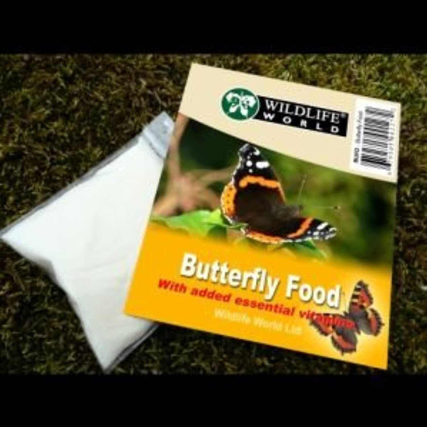 Butterfly Food With Vitamins (Pack of 12)