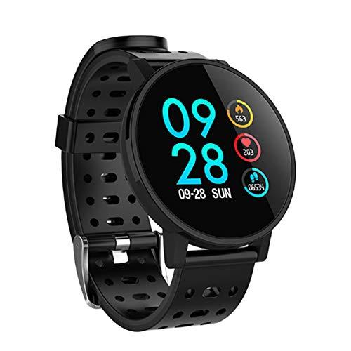 Monland Smart Watch attività Impermeabile Fitness Tracker HR Ossigeno nel Sangue Orologio per La Pressione Sanguigna Uomo Donna Smartwatch PK V11 per Makibes