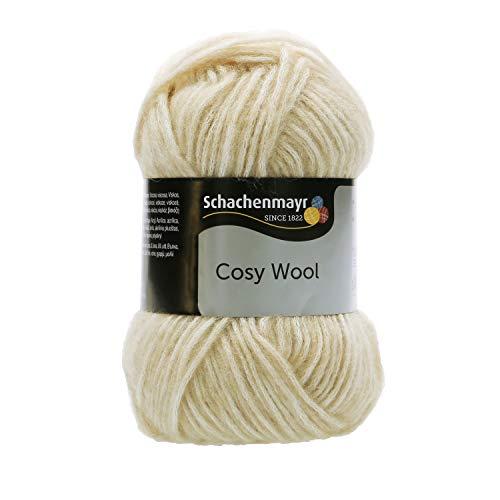 Schachenmayr since 1822 Handstrickgarne Schachenmayr Cosy Wool, 50g Creme