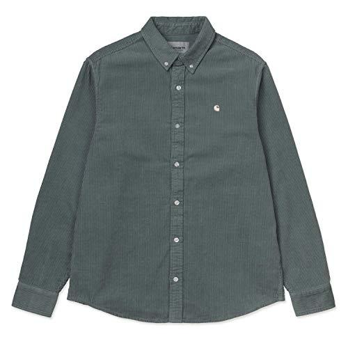Carhartt WIP Herren L/S Shirt Hemd Grau 10182 M