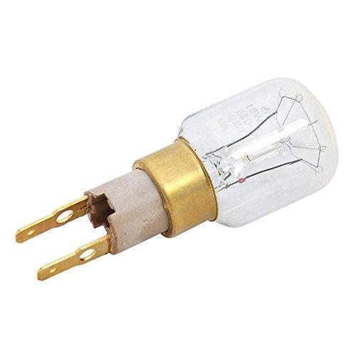 Genuine WHIRLPOOL tipo 15W T-click T25nevera lámpara bombilla