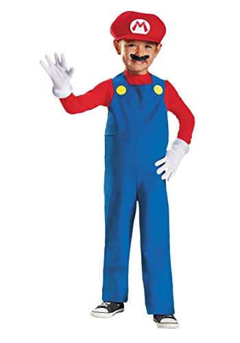 Toddler Mario Costume 3T/4T