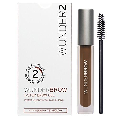 WUNDER2 Wunderbrow lang anhaltendes und wasserfestes Augenbrauengel, Farbe: Auburn