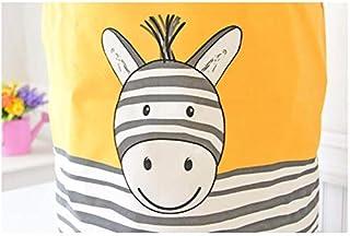 MJY Panier sale Cartoon Stripe âne panier à linge pliant imperméable à l'eau vêtements paniers de rangement Décoration de ...