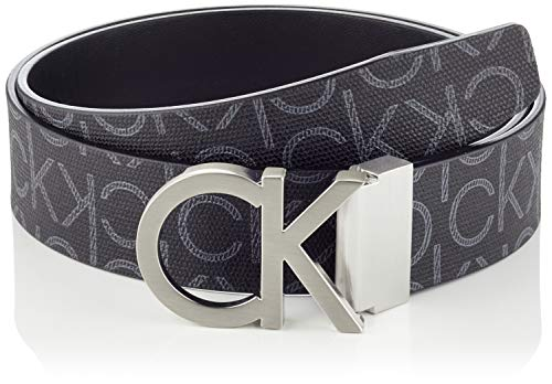 Calvin Klein Men's Ck Rev.adj. New Mono Belt 3.5cm, Black...