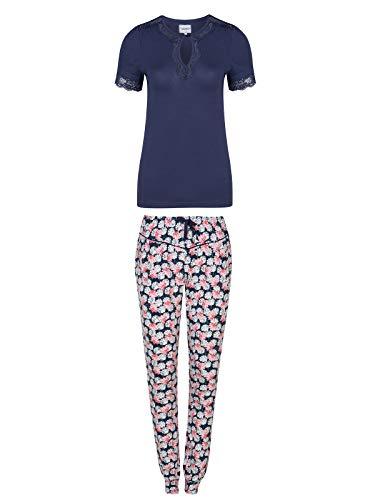Vive Maria Asia Morning Pyjama Blau Allover, Größe:S